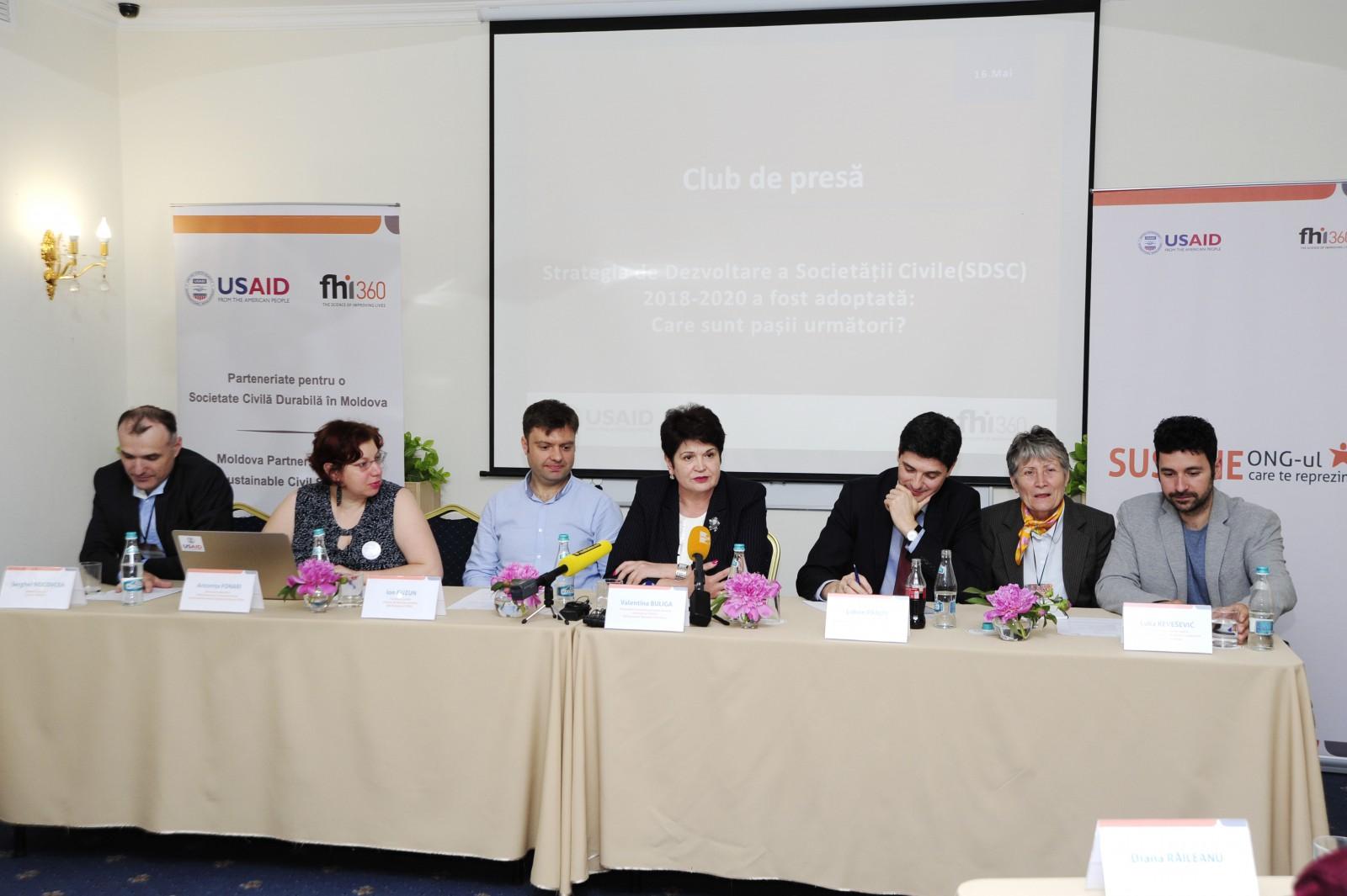 Dezvoltarea societății civile: De la implicare în procesul decizional la viabilitate financiară
