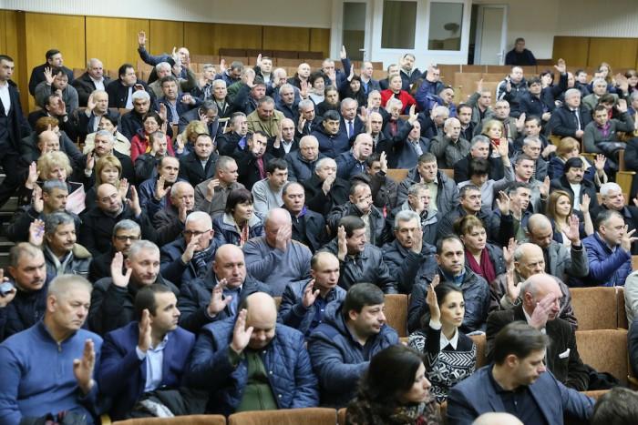 Întrunirea Aleșilor Locali ai Partidului Liberal Democrat din Moldova