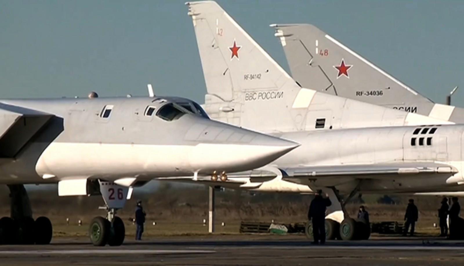 Două bombardiere ruseşti au fost interceptate de avioane de vânătoare americane în apropiere de Alaska
