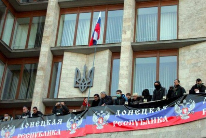 """(video) Noi provocări în Ucraina: La Donețk s-a format o """"republică independentă"""""""