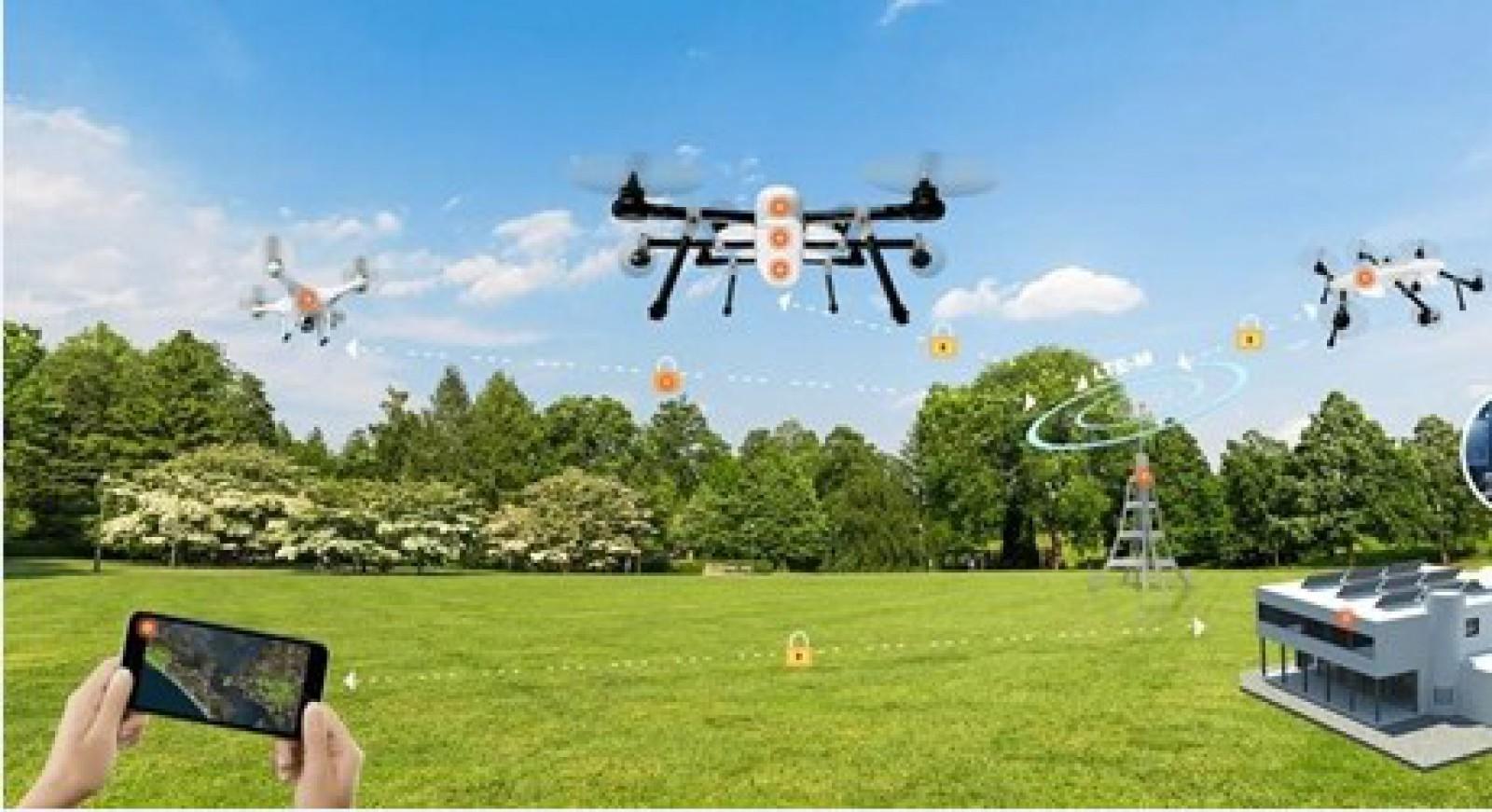 DroneRoute -  platforma globală pentru internetul dronelor