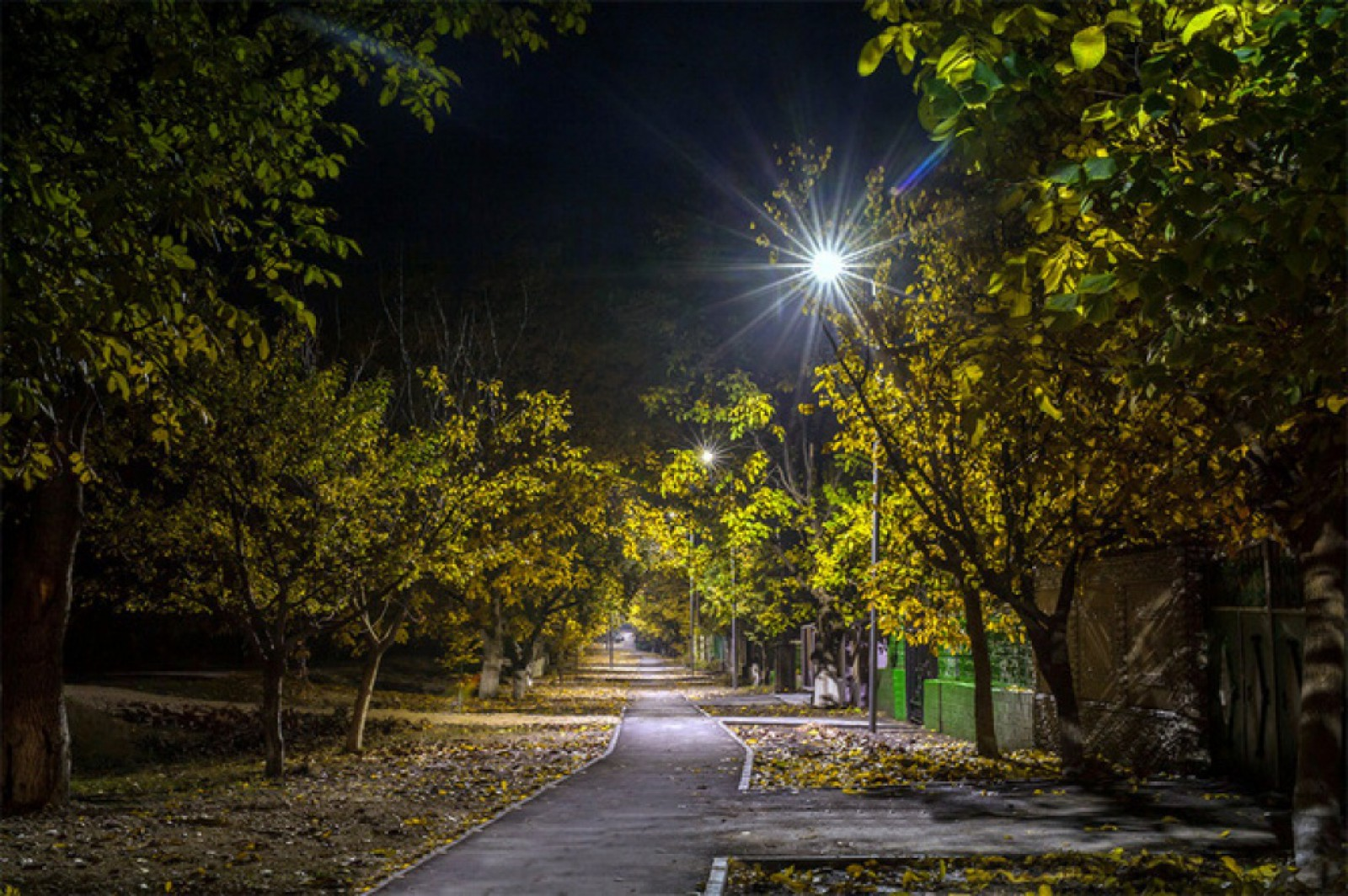 Mai multe drumuri și trotuare din Orhei vor fi iluminate până de Revelion