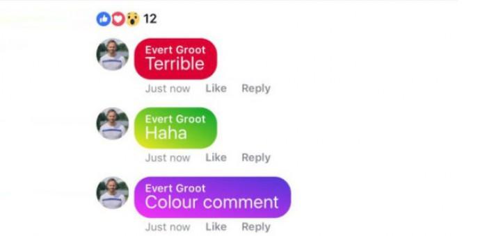 După introducerea noii interfeţe, Facebook pregăteşte şi comentarii colorate