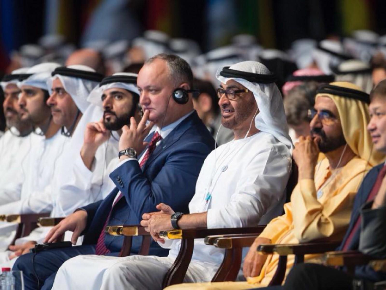După Pavel Filip și Igor Dodon a mers în Emiratele Arabe Unite