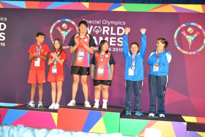 (foto) Echipa Moldovei s-a întors victorioasă de la Jocurile Mondiale Special Olympics