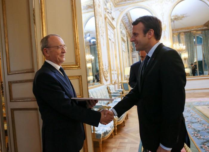 Emil Druc, Amabasadorul Republicii Moldova în Franța, numit și Ambasador în Monaco
