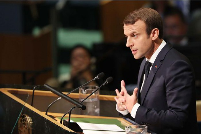 Emmanuel Macron la Adunarea Generală a ONU: Președintele sirian al-Assad este un criminal care trebuie judecat