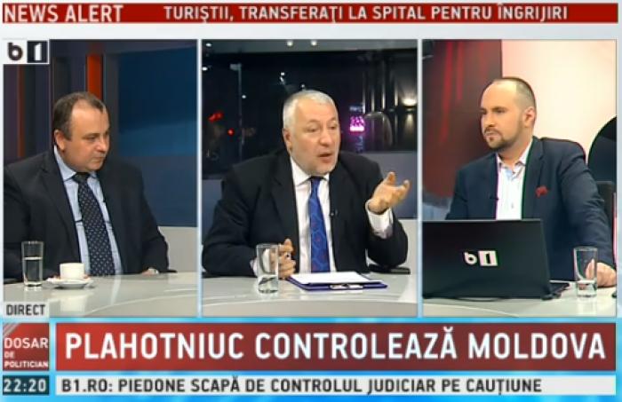 Experți din România: Pro- europeanul nostru Ghimpu este cel care l-a sprijinit pe Plahotniuc să fure miliardul