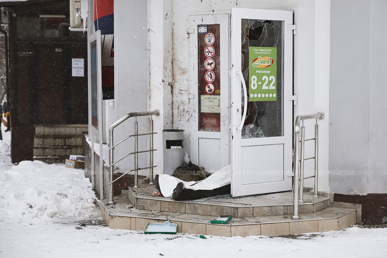 Explozia din alimentară: Bărbatul care a adus grenada teroriza cartierul