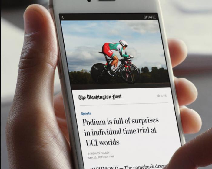 Facebook începe testarea Instant Articles cu taxă pe Android