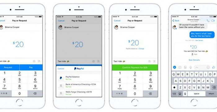 Facebook Messenger te ajută să trimiți bani prin PayPal prietenilor
