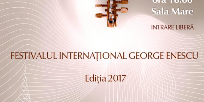 """Festivalul Internațional de Muzică """"George Enescu"""" vine mâine la Chișinău. Concertul va fi intrare liberă și va avea loc la Filarmonică"""