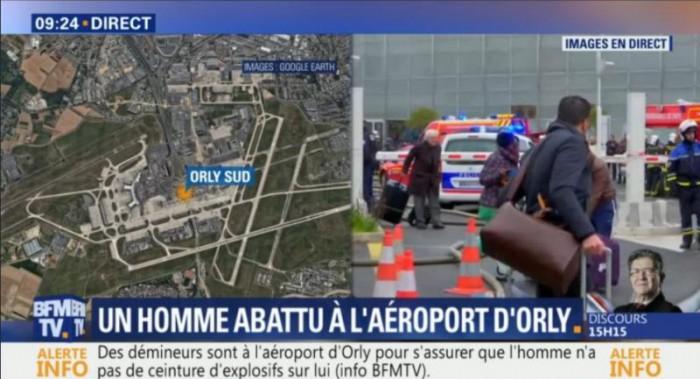 Focuri de armă. Aeroportul Orly din Paris este evacuat
