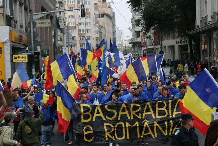 (foto, video) Marșul Unirii din București s-a încheiat fără incidente