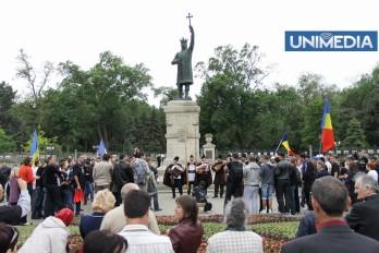 (foto, video) Marșul Unirii în imagini