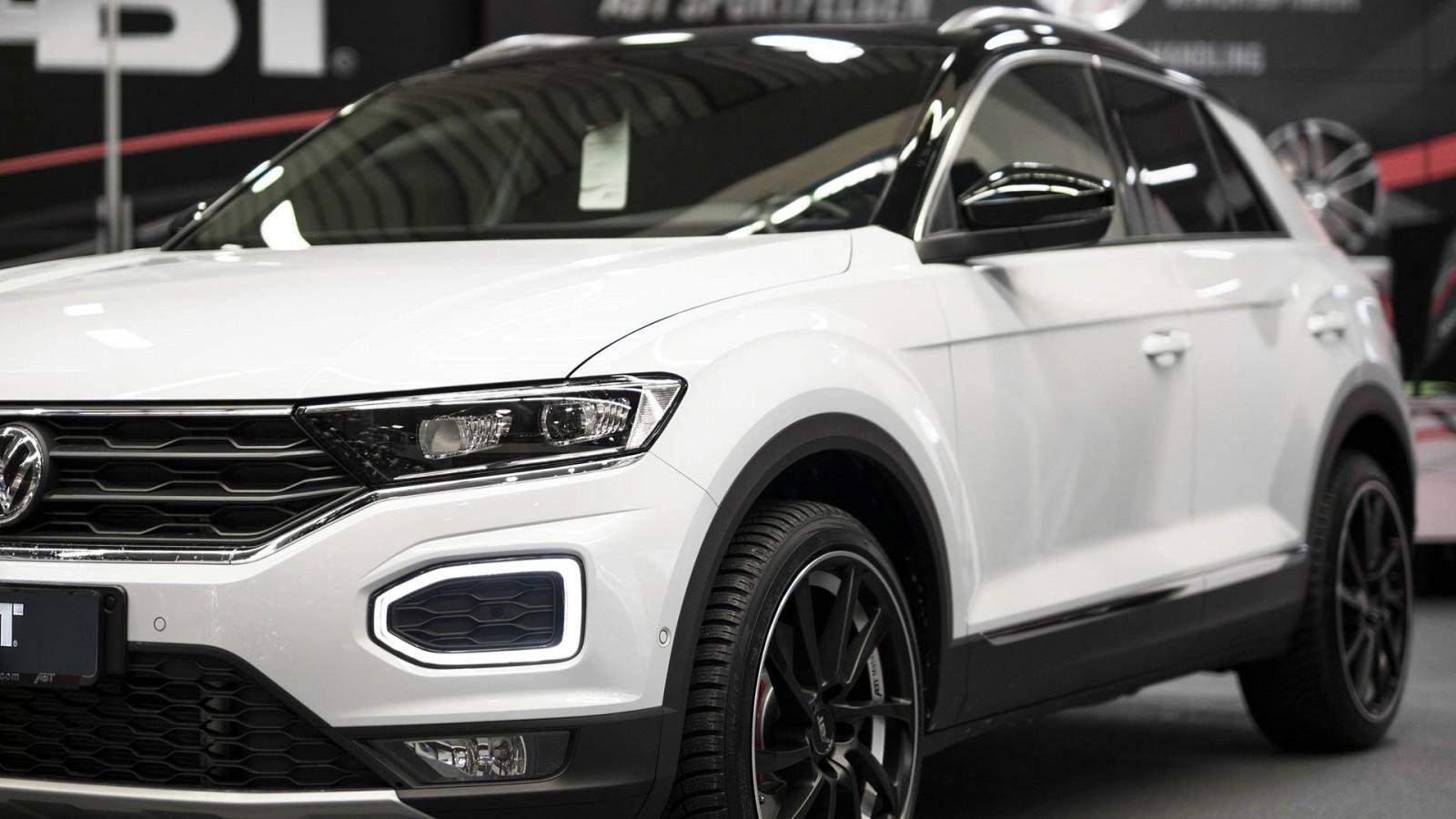 (foto) ABT Sportsline a pregătit primul program de tuning pentru Volkswagen T-Roc