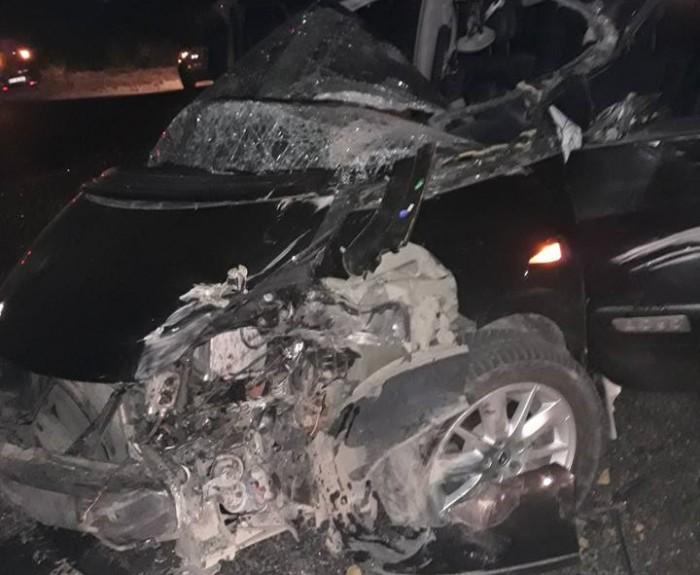 (foto) Accident violent în capitală: Două persoane, spitalizate în stare gravă