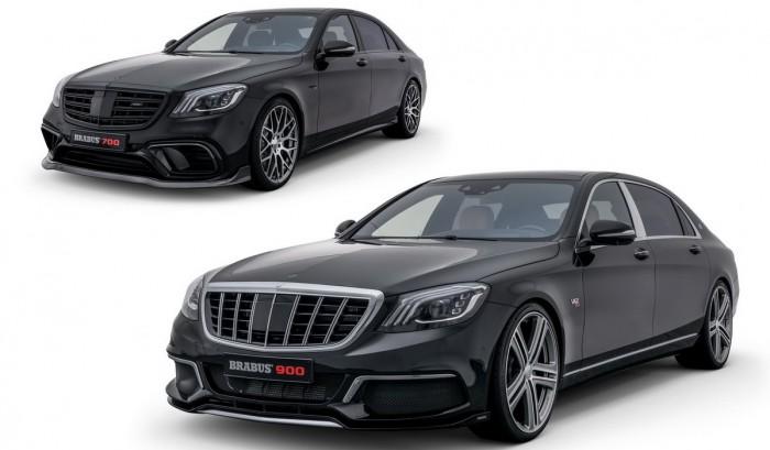 (foto) Brabus prezintă în detalii cum a transformat modelele Mercedes-AMG S 63 şi Mercedes-Maybach S 650