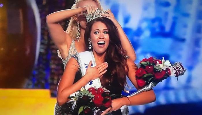 (foto) Cara Mund, o campioană națională la dans, este noua Miss SUA