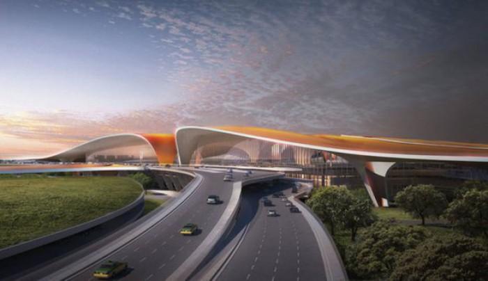 (foto) Cel mai mare aeroport din lume se va deschide în China. Cum va arăta acesta