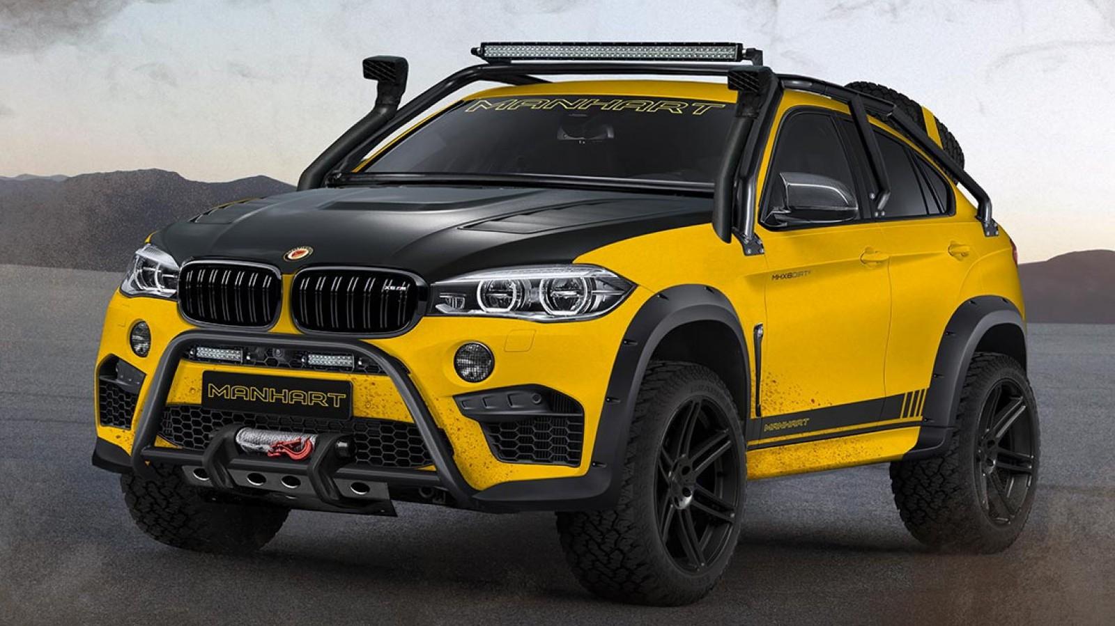 (foto) Cel mai tare BMW X făcut pentru off-road. Doar cinci vor fi construite