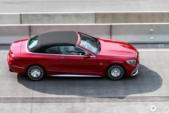 (foto) Cel puţin două exemplare Mercedes-Maybach S 650 Cabriolet au ajuns la nişte clienţi din Germania