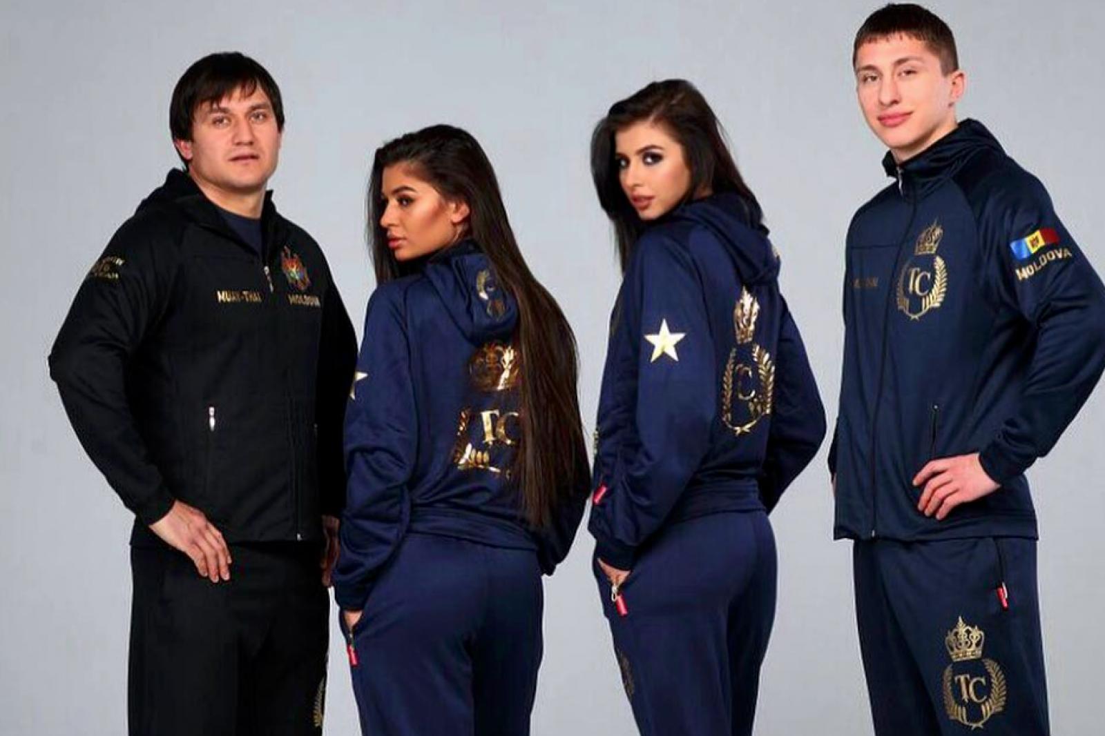 (foto) Constantin Țuțu are linie vestimentară: Haine sportive cu inițialele aurite ale deputatului și drapelul Republicii Moldova