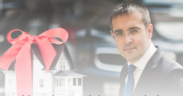 (foto) Democratul Sergiu Sîrbu cu locuinţă de lux primită în dar de la fratele său fotograf