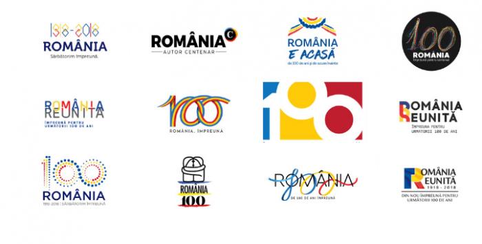 (foto) După o sută de ani, Marea Unire are logo. Acesta este proiectul câştigător din cele 13 propuse