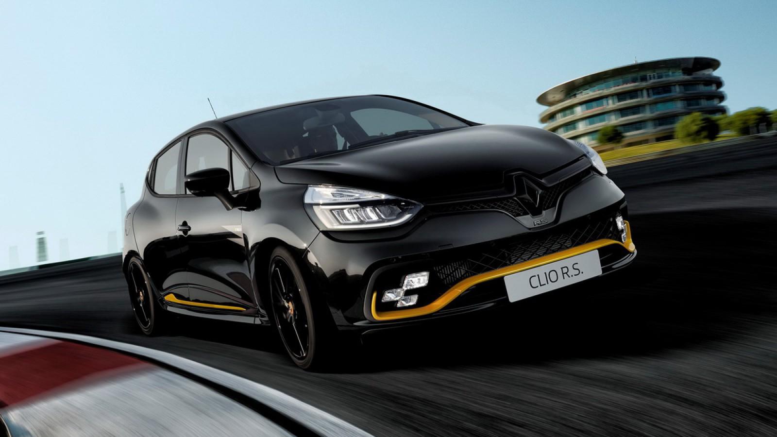 (foto) Ediţie limitată! Noul Renault Clio R.S.18 va fi disponibil în Europa din acest an