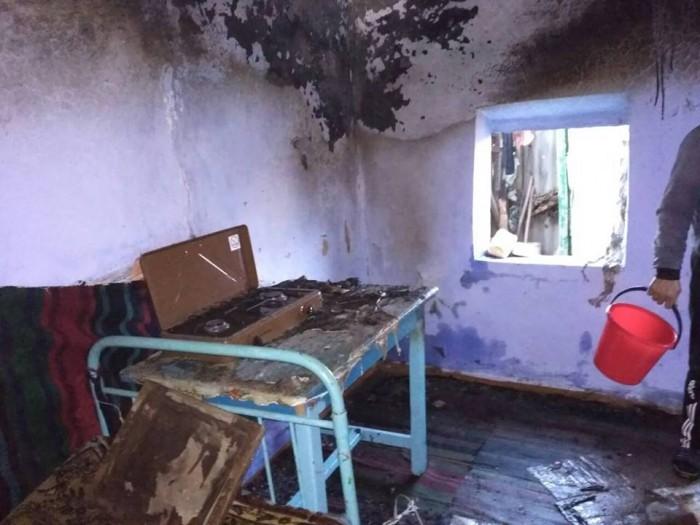 (foto) Explozie într-o casă din raionul Leova: Deflagrația s-ar fi produs din cauza unei butelii cu gaz