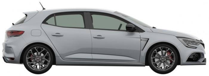 (foto) Exteriorul lui Renault Megane R.S. nu mai este un secret. Iată cum arată pe nişte imagini brevetate