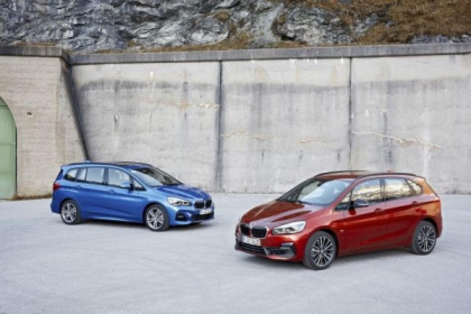 (foto) Facelift pentru BMW Seria 2 Active Tourer şi BMW Seria 2 Gran Tourer