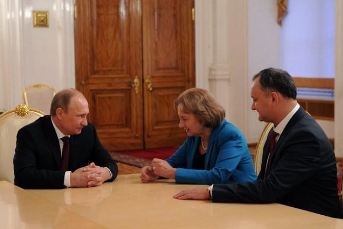 (foto) Igor Dodon s-a întâlnit cu Vladimir Putin