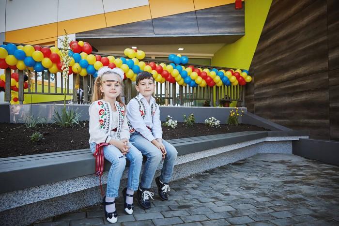 (foto) La Călărași a fost deschisă prima grădiniţă de tip energo-eficient din Moldova