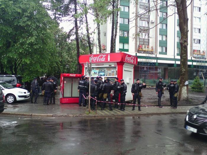 (foto) Măsuri sporite de securitate. Zeci de polițiști au împânzit centrul capitalei