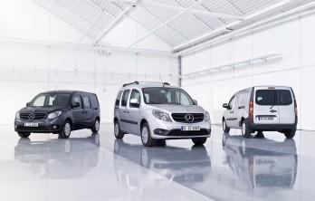 (foto) Mercedes-Benz Citan - versiunea germană a lui Renault Kangoo