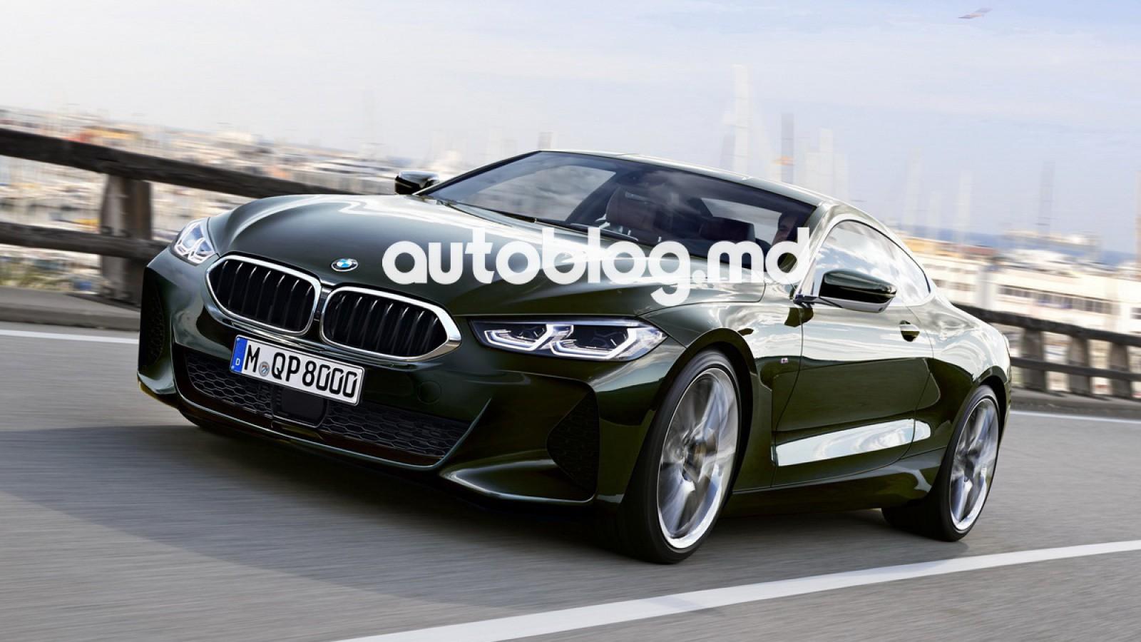 (foto) Noul BMW Seria 8, testat în caroserie de serie. Iată cum ar putea arăta coupeul şi varianta cabrio