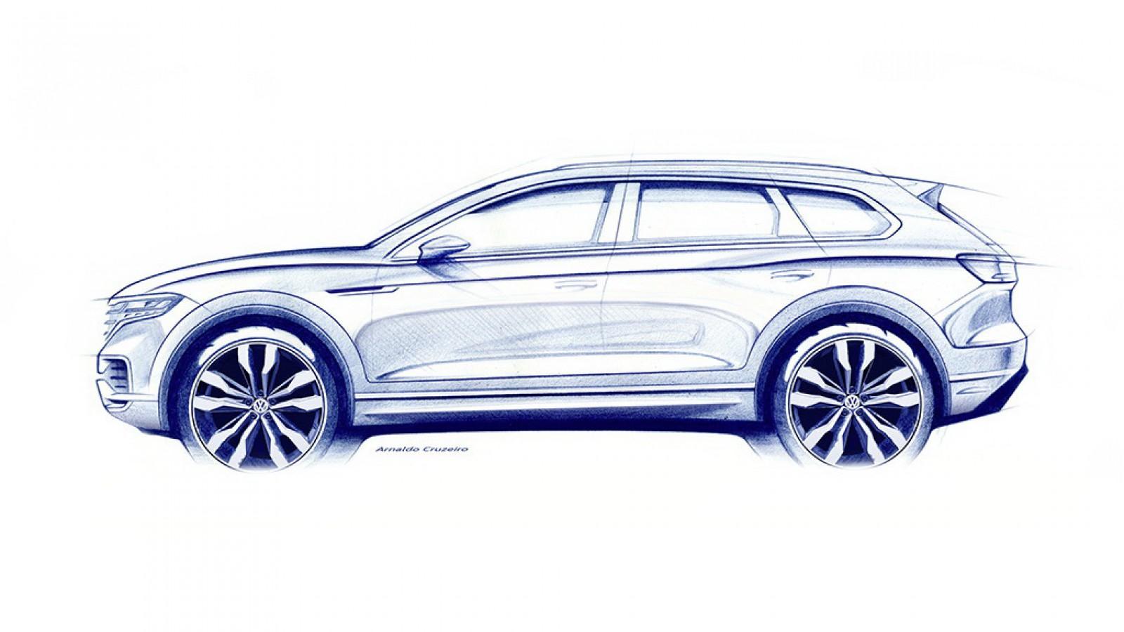 (foto) Noul Volkswagen Touareg. A fost anunţată dată prezentării