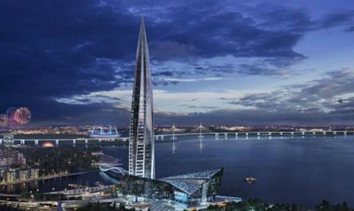 (foto) O clădire din Rusia a devenit cea mai înaltă din Europa