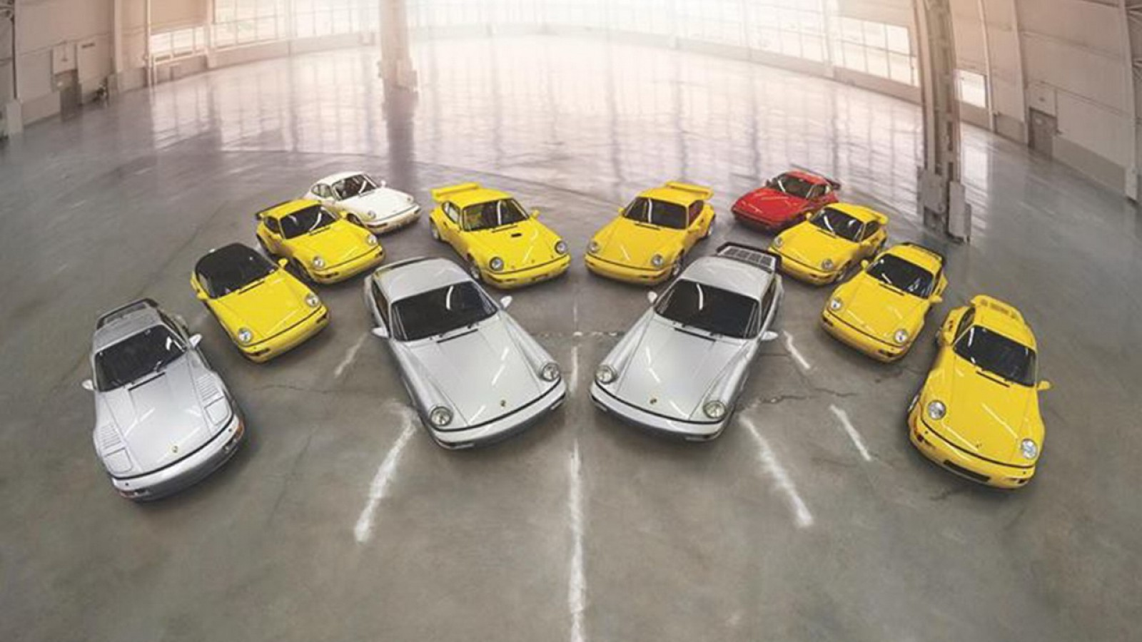 (foto) O colecție unică de modele rare Porsche va fi vândută la licitaţie pentru o avere