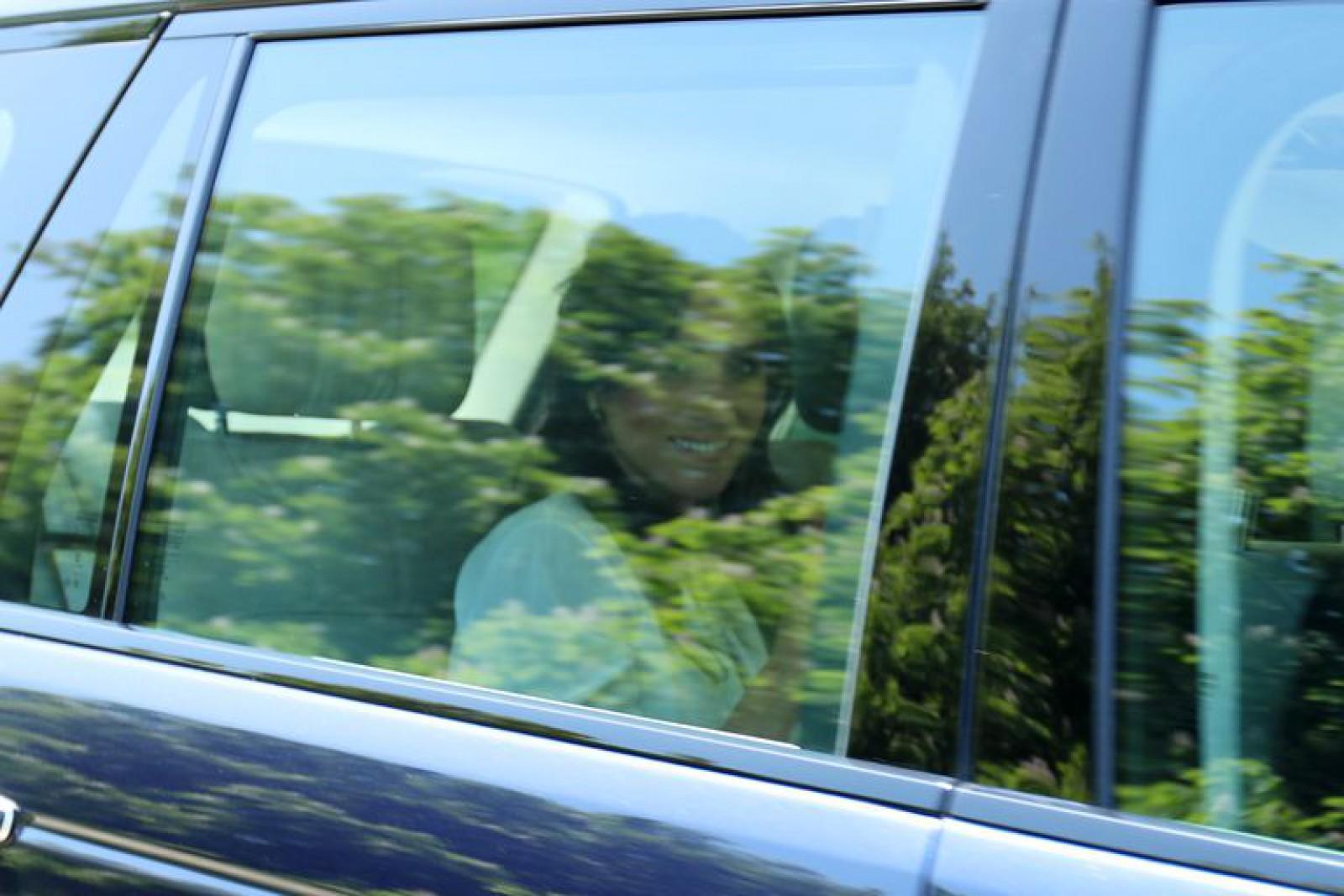 (foto) Pregătirile sunt în toi: Prințul Harry și Meghan Markle au ajuns la Castelul Windsor, unde va avea loc nunta regală