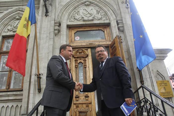 (foto) Președintele PPDA, Andrei Năstase, a avut o întrevedere cu șeful Delegației UE la Chișinău, Peter Michalko