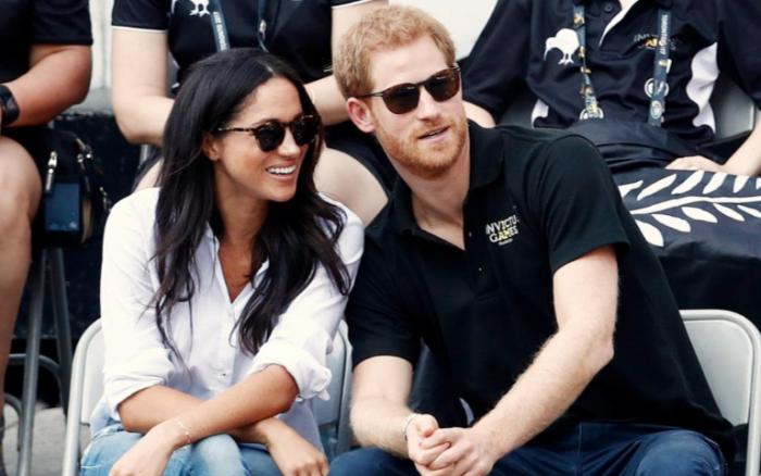 (foto) Prima apariție publică oficială a Prințului Harry cu prietena sa, Meghan Markle