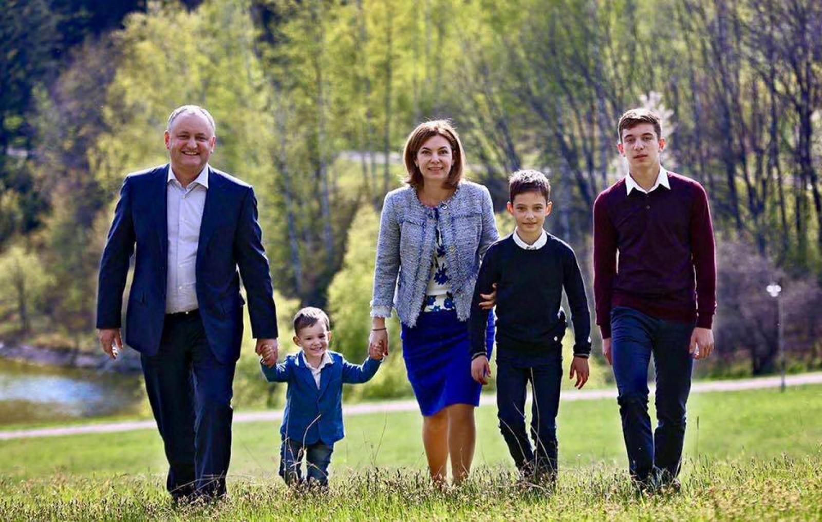(foto) Prima Doamnă a Republicii Moldova, Galina Dodon, își serbează astăzi ziua de naștere