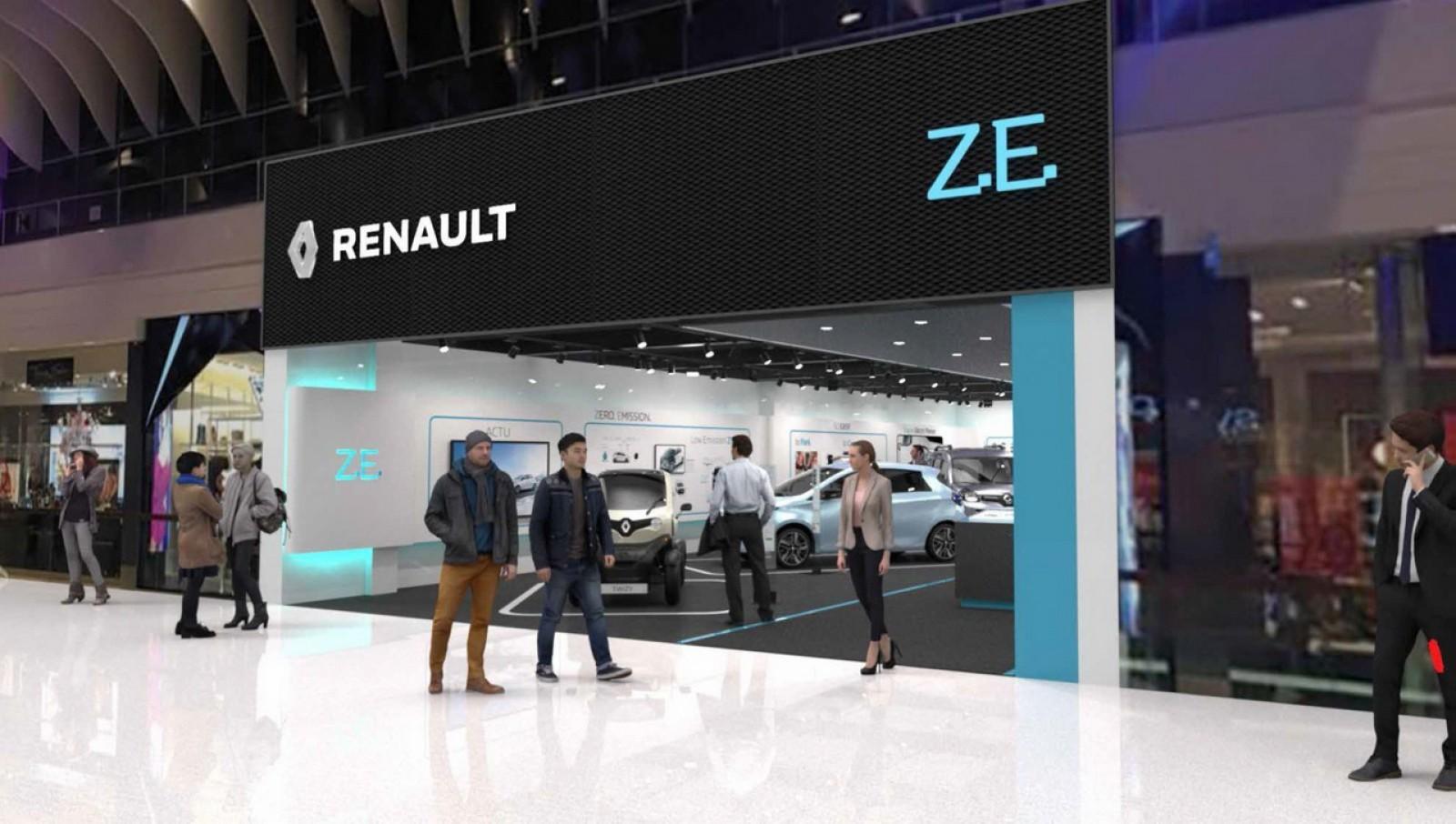 (foto) Primul Renault Store dedicat maşinilor electrice va fi deschis la 16 februarie în Suedia