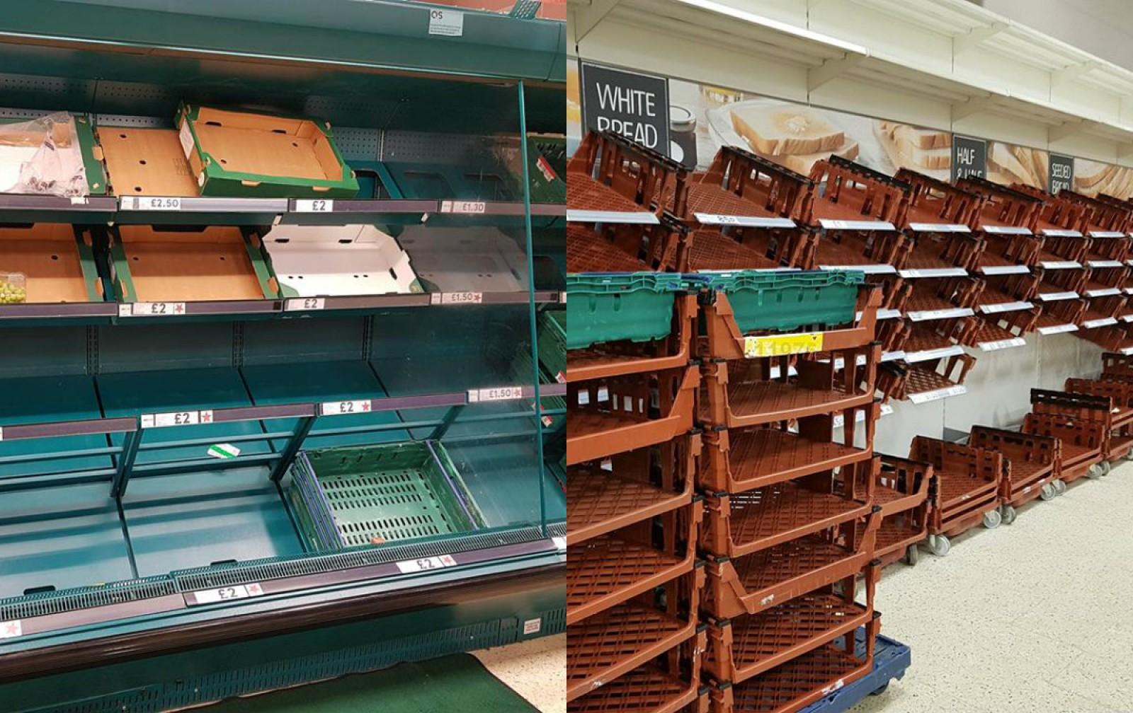 (foto) Scoțienii au golit toate rafturile magazinelor. Mărturiile unei moldovence stabilite în Scoția