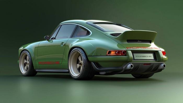 (foto) Sportcar de vis. Atelierul Singer Vehicle Design construieşte un Porsche 911 care are doar 990 de kg