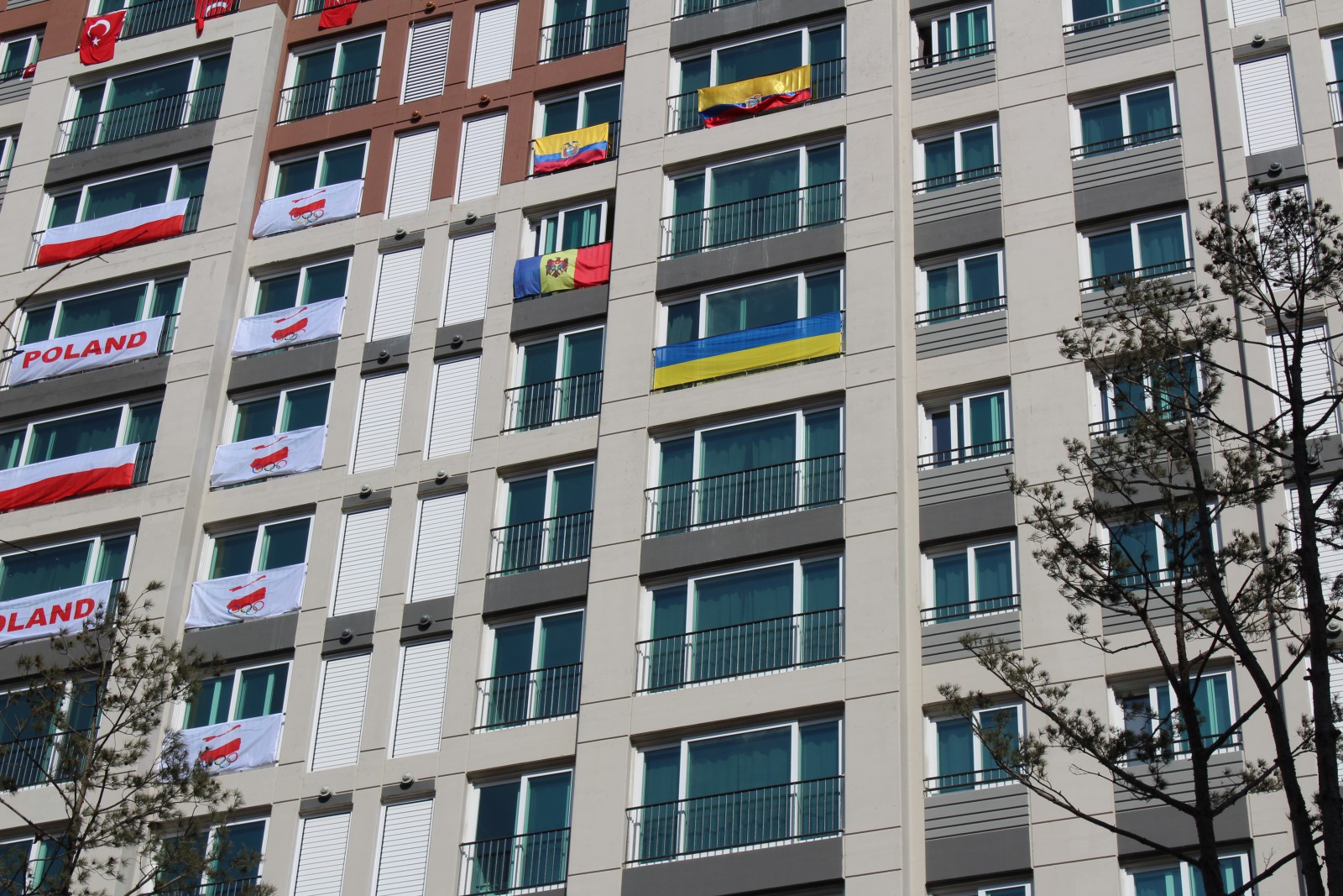 (foto) Sportivii moldoveni au ajuns în Satul Olimpic, în PyeongChang: A fost deja arborat drapelul Republicii Moldova