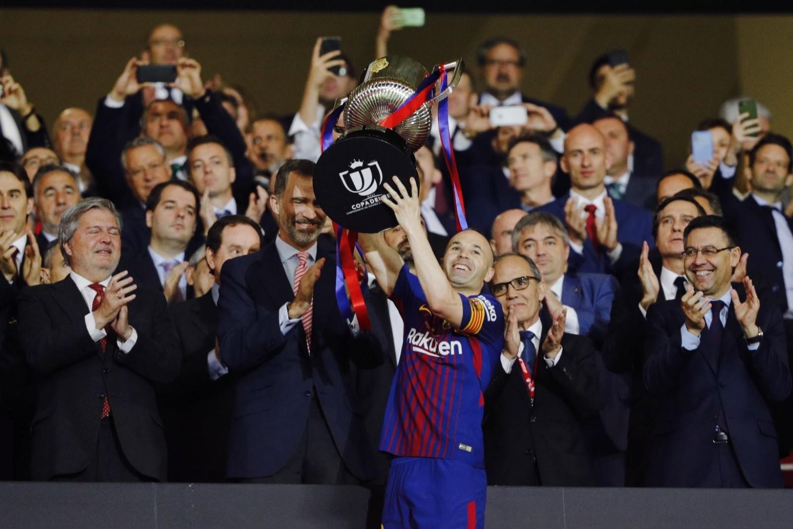 (foto/video) Barcelona a câștigat al patrulea an la rând Cupa Spaniei. Catalanii s-au distrat în finală cu Sevilla